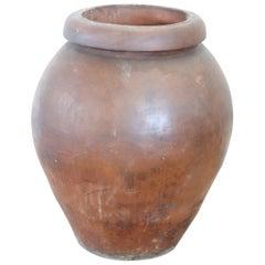 20th Century Italian Large Terracotta Garden Jar