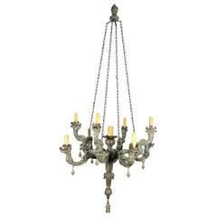 20th Century Italian Louis XIV Style Chandeleir