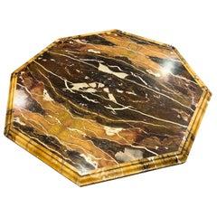 20th Century Italian Marble Coffee Table by Max Papiri for Mariangela Melato