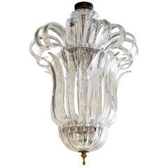 20th Century Italian Murano Glass Chandelier by Barovier & Toso