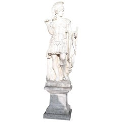 20th Century Italian Neoclassical Stone Garden Statue