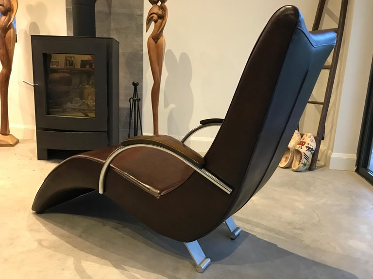 20th Century Vintage Retro Italian ox blood colored  Lounge Chairs  In Good Condition For Sale In Cowthorpe, North Yorkshire