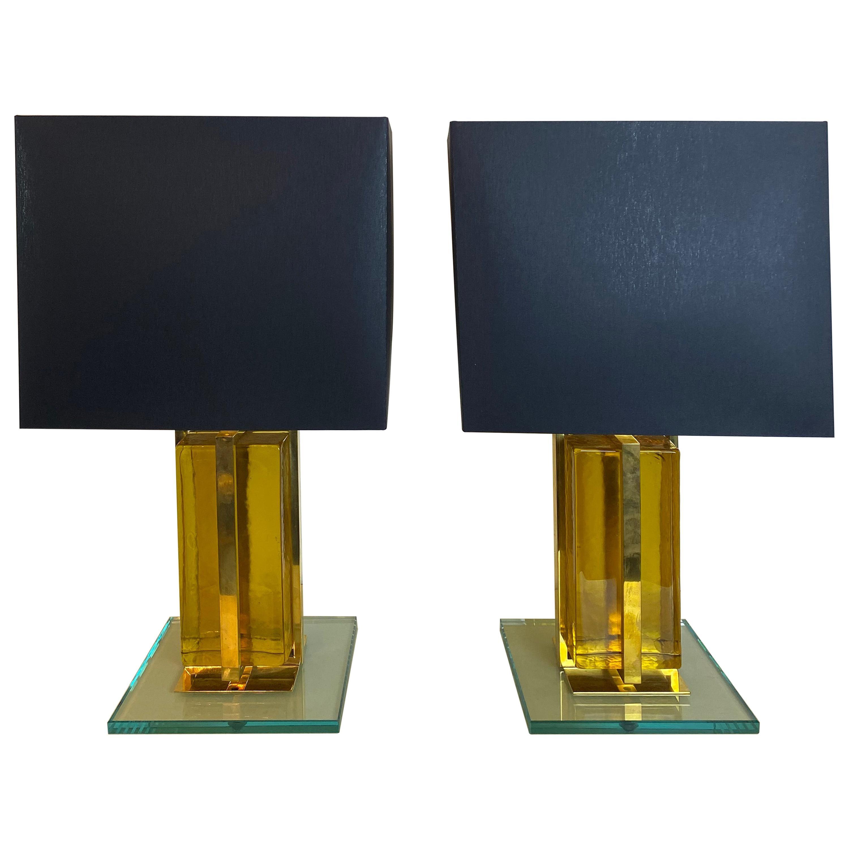 20th Century Italian Pair of Table Lamps