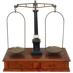 20th Century Italian Pharmacy Scale, Fascist Era