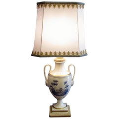 20th Century Italian Porcelain Table Lamp by Richard Ginori