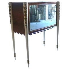 20th Century Italian Rosewood Bar Cabinet by Paolo Buffa