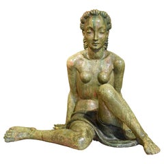 20th Century, Italian Sculpture by Helen König Scavini, Lenci Manufactory