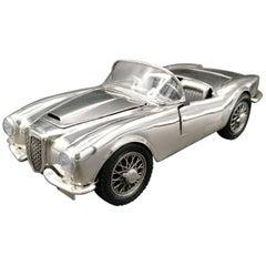 20th Century Italian Sterling Silver Car Model of Lancia Aurelia B24