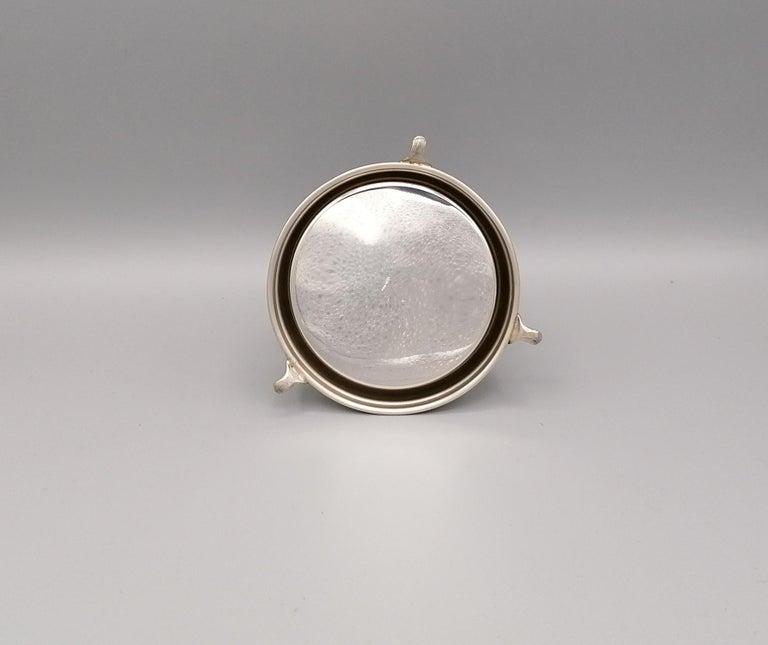 20th Century Italian Sterling Silver Desk Bell For Sale 2
