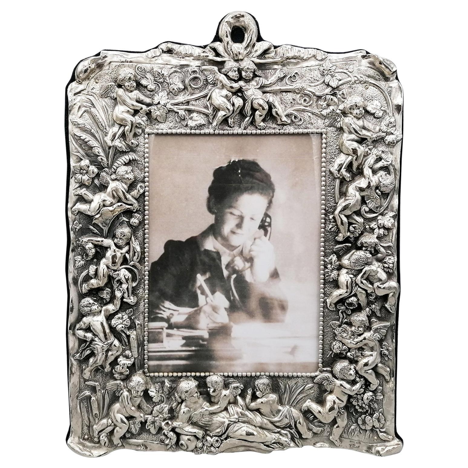 20th Century Italian Sterling Silver Frame