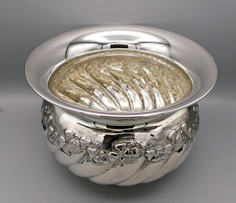 Other 20th Century Italian Sterling Silver tochon