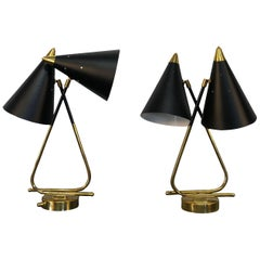 20th Century Italian Stilnovo Table Lamps