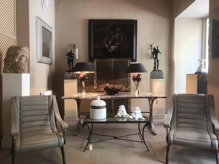 Glazed 20th Century Italian Tommaso Barbi Porcelain Ice Bucket For Sale