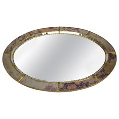 20th Century Italian Vintage Art Deco Wall Mirror, 1930s