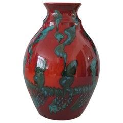 20th Century Italian Vintage Ceramic Vase, 1980s