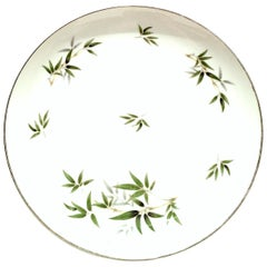 20th Century Japanese Porcelain and Platinum Dinnerware by, Wentworth-S/11