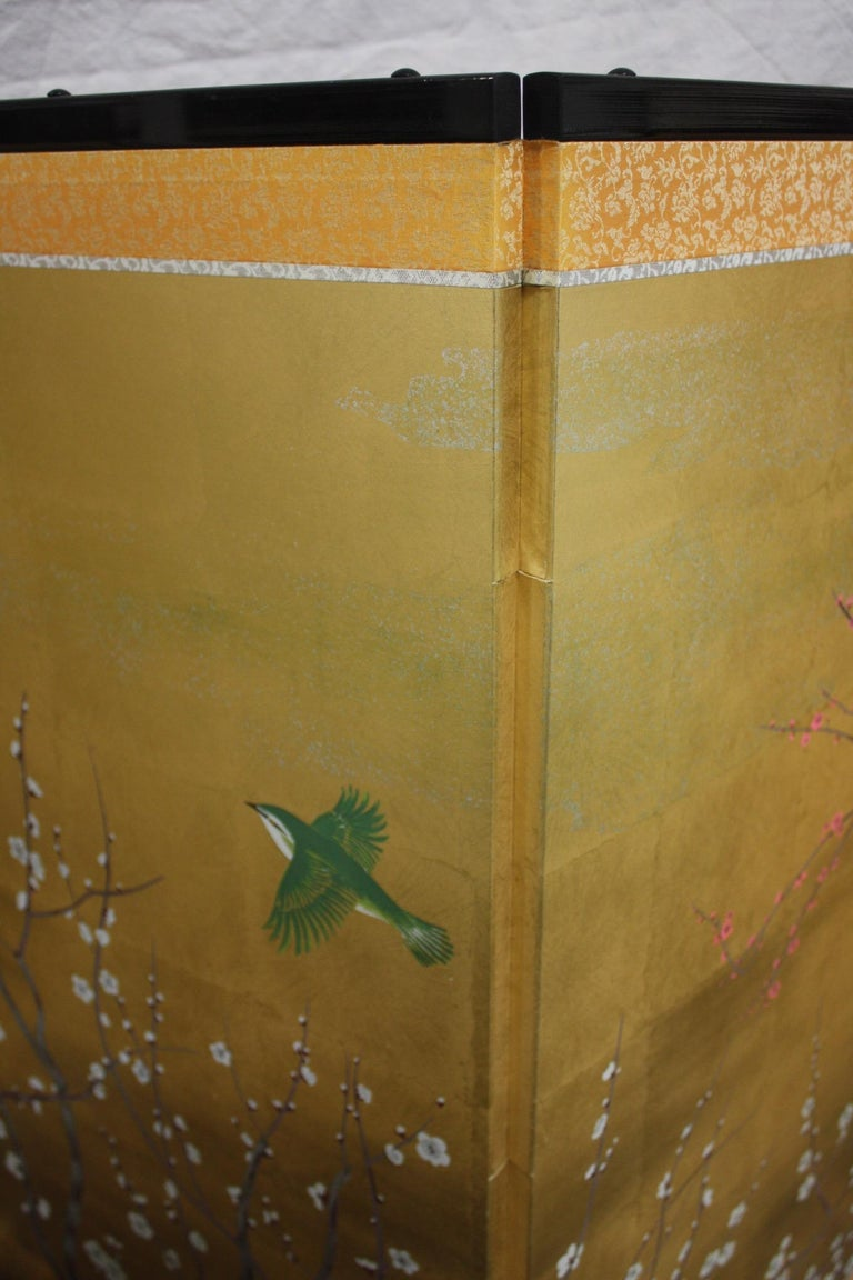 20th Century Japanese Screen In Good Condition For Sale In Atlanta, GA