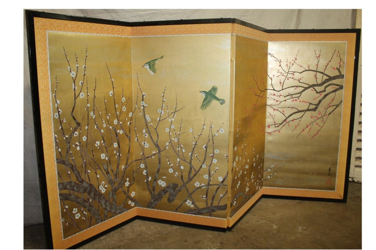 20th Century Japanese Screen For Sale 1