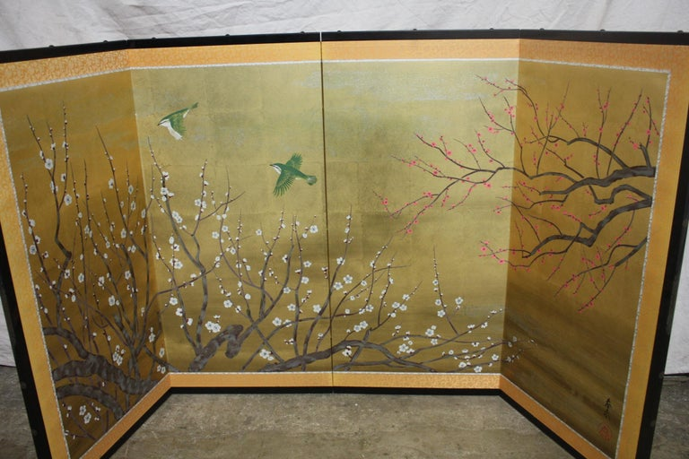 20th Century Japanese Screen For Sale 4