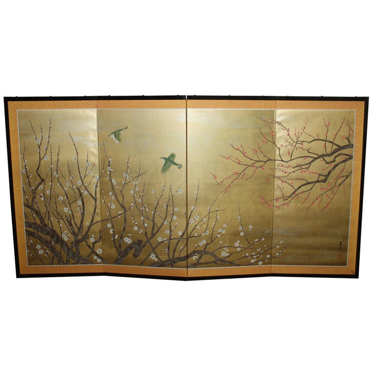 20th Century Japanese Screen For Sale