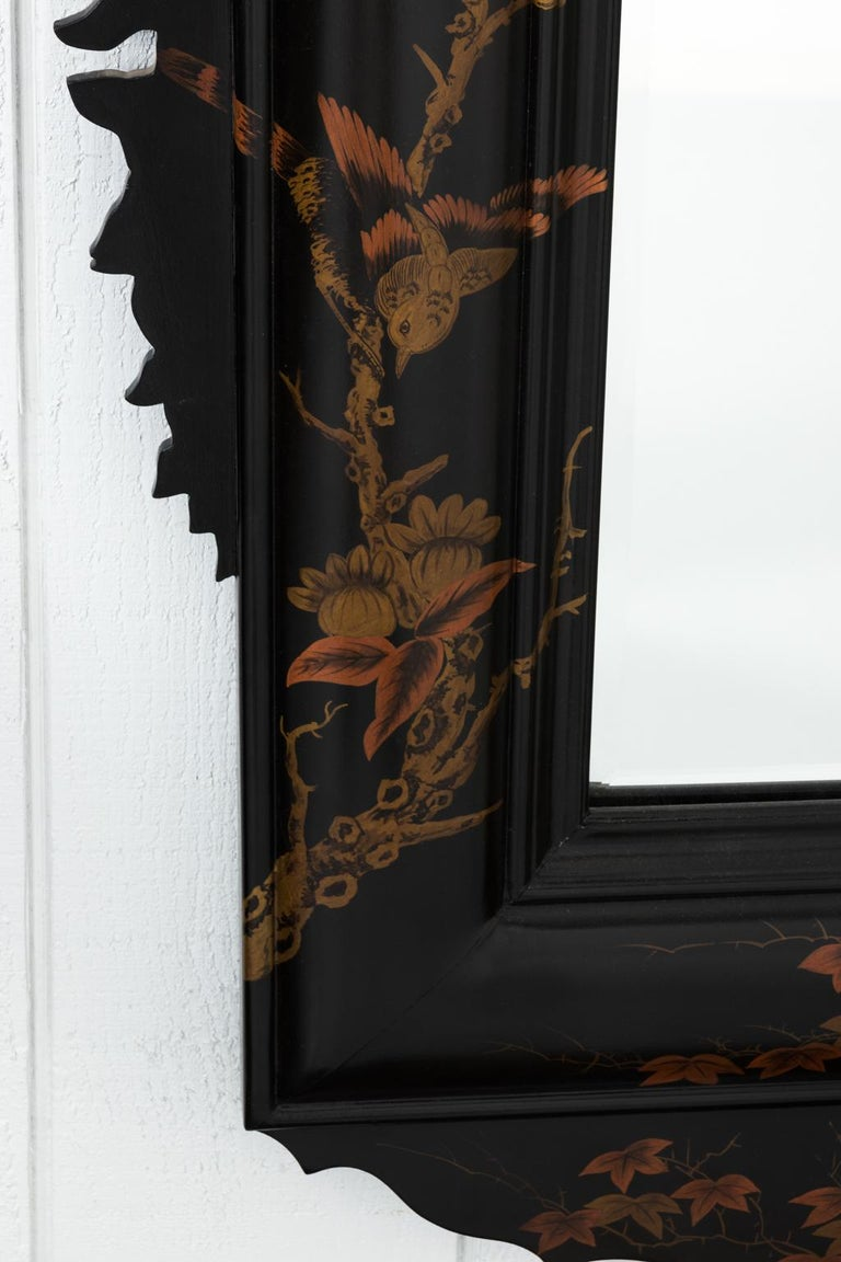 20th Century Japanned Mirror For Sale 2