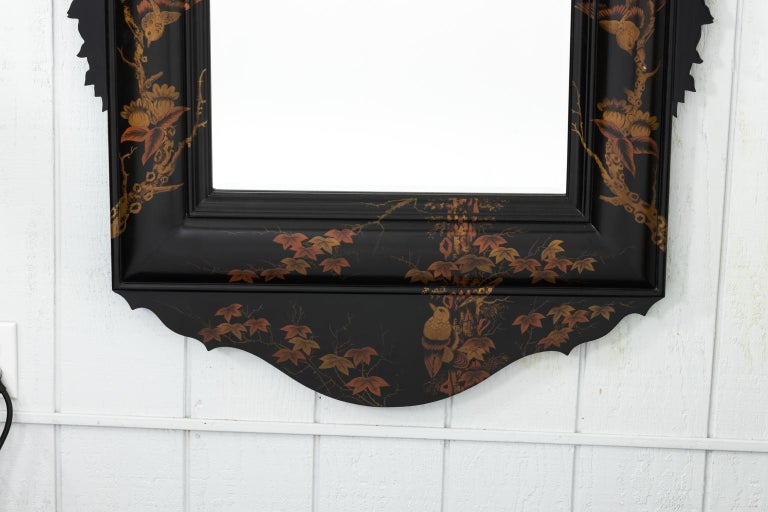 20th Century Japanned Mirror For Sale 4