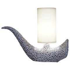 20th Century Le Vaucour Ceramic Table Lamp