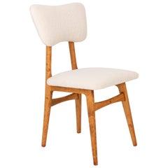 20th Century Light Crème Boucle Chair, 1960s
