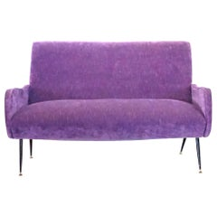 20th Century Lila Italian Small Two-Seat Sofa by Marco Zanuso