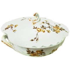 20th Century Limoges France Lidded Serving Dish by Haviland & Co