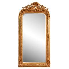 20th Century Louis Philippe Gilt Mirror