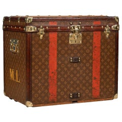20th Century Louis Vuitton Hat Trunk in Monogrammed Canvas, Paris, circa 1900