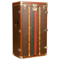 """20th Century Louis Vuitton """"Lily Pons"""" Trunk in Monogrammed Canvas, circa 1940"""