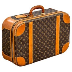 20th Century Louis Vuitton Suitcase Classic Monogram Canvas '60s