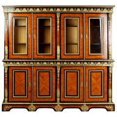 20th Century Louis XIV Style French Bibliotheque Bookcase