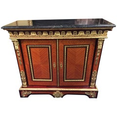 20th Century Louis XIV Style Palisander Tulipwood Cabinet