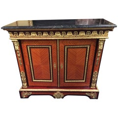 20th Century Louis XIV Style Palisander Tulipwood Cabinet