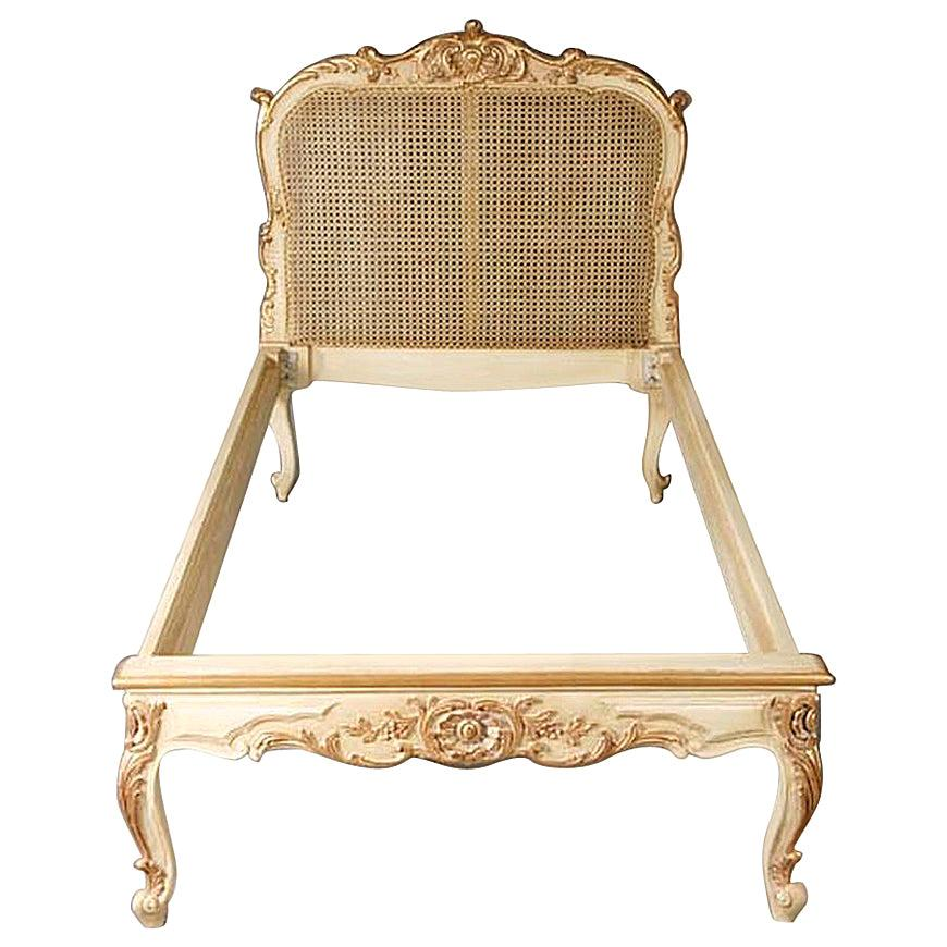 20th Century Louis XV Style Bed