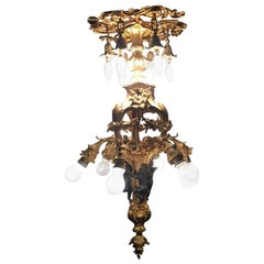 20th Century Louis XV Style French Chandelier