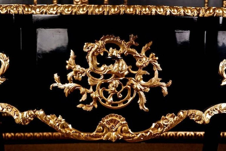 20th Century Louis XV Style French Salon Table For Sale 6