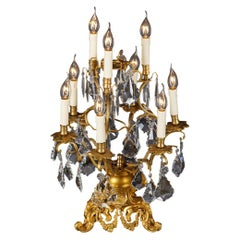 20th Century Louis XV Style Girandole Table Lamp
