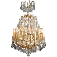 20th Century Louis XV Style Prisms Chandelier