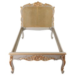 20th Century, Louis XV Style, Single Bed