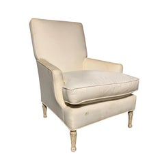 20th Century Louis XVI Style Bergère Chair in the Style of Maison Jansen
