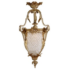 20th Century Louis XVI Style Ceiling Candelabra