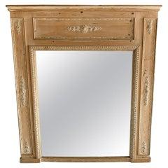 20th Century Louis XVI Style Trumeau Mirror