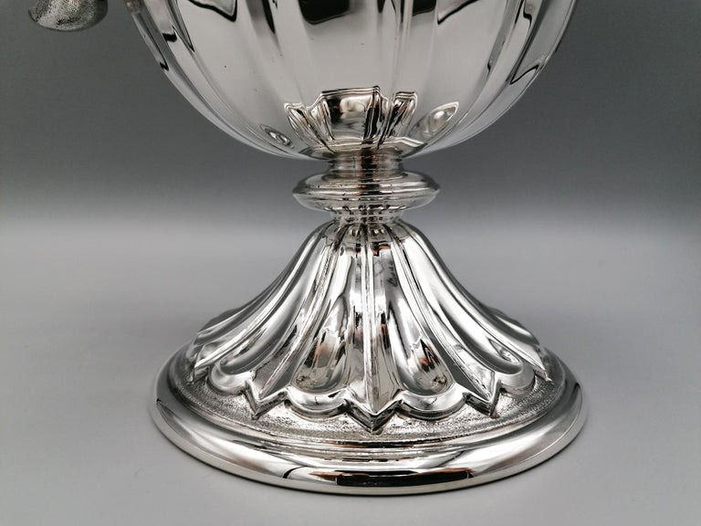 20th Century Made in Italy Sterling Silver Jug For Sale 4