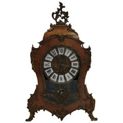20th Century Mantel Clock Boulle Type