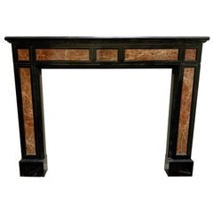 20th Century Marble Fireplace from France