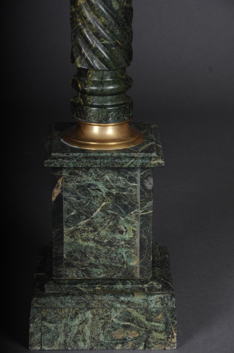 20th Century Marble Pillar/Column in Louis XV Style In Good Condition For Sale In Berlin, DE